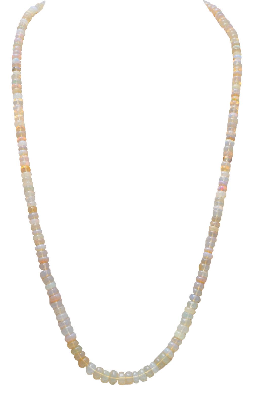 28  Inchers Opal Gemstone Beaded Single Line String NS1732